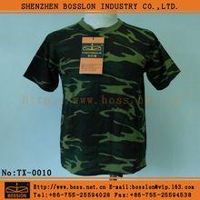 comfortable army woodland camo t shirt