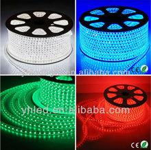 Cost effective 110v 220v high lumens output 110 volt led light strip 5050 ropelight