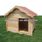 Wooden A Frame Asphalt Roof Dog Cage Large