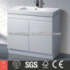 curved bathroom furniture MDF High Gloss curved bathroom furniture