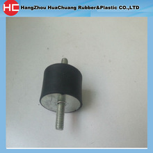 40*25 Male Male rubber anti vibration M8 OR M10 stud for industrial machinery