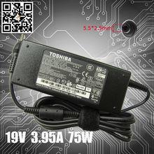 Original laptop adapter PA3715U-1ACA for Toshiba 19V 3.95A 75W PA-1750-04 ac adapter