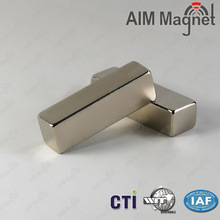 Permanent neodymium magnet/ block n48 rare earth