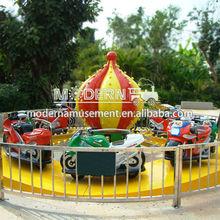 Attraction Amusement Park Motor Race Car For Kids