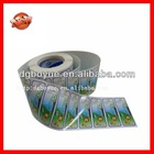 Logo Printed Roll Adhesive Sticker,Custom Adhesive Waterproof Packing Label,Plastic Peel Off Stickers