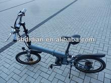 BE preferMid mounted/center motor/chain drive foldable 250w e bike/electric bike/bicycle/pedelec w built-in/inside frame battery