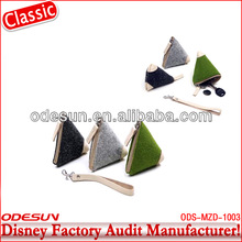 Disney factory audit manufacturer's felt money bag 1400040