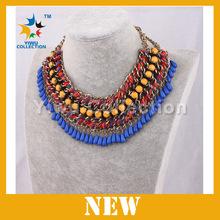 pendants jewelry big ruby stone jewelry necklace 488