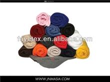 Polyester Cheap Plain Color Polar Fleece Throw Blankets