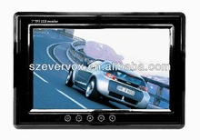 Evervox EV-7086 7 inch TFT LCD digital panel In-car Headrest Monitor with Built-in speaker without pillow