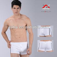 White cotton men's boxers briefs for men in underwear for oem underwear