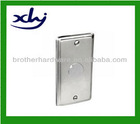 """2014 Hot sales 4""""X2"""" rectangular galvanized switch cover plate with 1/2""""K.O"""