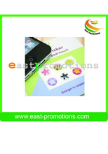 Promotions removable & Convenient phone back button decal for smart phone.