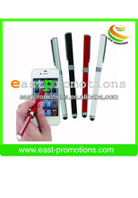 promotional MINI metal stylus pen with soft silicone tips