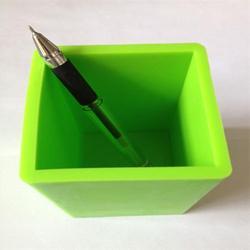 new arrival silicone pen holder / desk pencil box/silicone rubber pen container