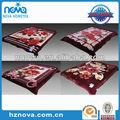 Confortável toque suave falso vison cobertores