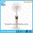 New design waterproof dc fan outdoor water cooling fans water mist spray fan