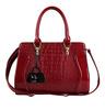 Pu Leather Womens Handbag Ladies Briefcase Vintage Shoulder Bags