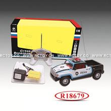 2014 New Boy Toy RC Police Car R18679