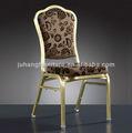Mariposa de hierro sillas para el hotel de la boda para el comedor habitación en acero durable de estilo clásico jh-a81