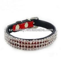 New style fashion rhinestone led flash light dog/cat collar