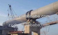 Double vertical lime shaft kiln