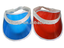 2014 Cheap Plastic Sun Visor Cap Wholesale