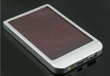 universal portable 2600mah usb power bank mini solar charger for moblie phones