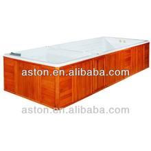 massage spa, neck shoulder massage jets outdoor spa tub