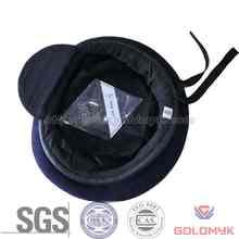 100% wool black cheap military beret