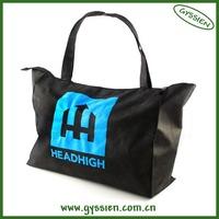 personized most popular stripe canvas beach tote bag