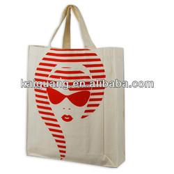 2014 Reusable Eco Natural Color Cotton Shopping Bags