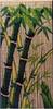 Bamboo door curtain handmade in Vietnam