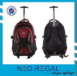 Trolley backpack with trolley for adults