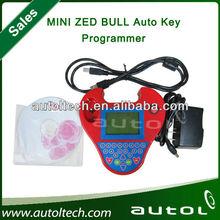 Professional key transponder zedbull programmer mini zed bull with cute performance good technic support multi-language function