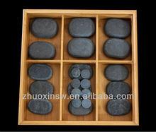 Health basics hot massage stone for toe,for body,for back