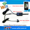 WIFI 30fps wireless transmitter for car parking camera, support iPhone, iPad, Android system