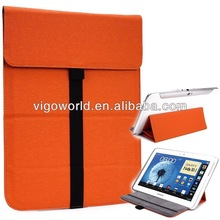 Wrapper stand leather sleeve for ARCHOS 79 Platinum