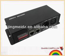 DMX 512 decoder 4-channel lighting controller