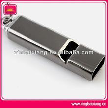High quality custom whistle keychain