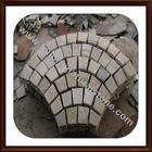 fan-shape pavers stone