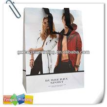 Wholesale Popular Silk Handle Paper Bag