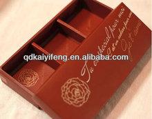2014 New Paper cosmetic box makeup kit,paper perfume box design,cosmetics packaging