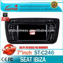EKK yıldızı S100 için araç ses dvd seat ibiza 2013 wifi/3g/gps/20 v-cdc/canbus/ipod- satış!