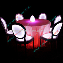 Led event lighting decor with rechargeable battery