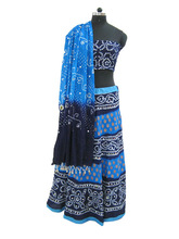 Women's Apparel - Ethnic Clothing -Bandhani Lehenga Chaniya Choli Set india