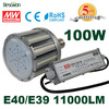 e40 100w hps street light replacement led corn bulb MEANWELL External driver
