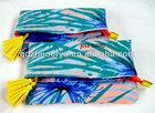 2014 hot sale ladies floral print cotton clutch bag