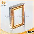 Design de moda moldura de papel de design, madeira em pé livre photo frame, moldura da paisagem