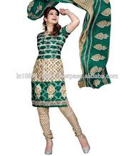 Net Jacquard Dress Material
